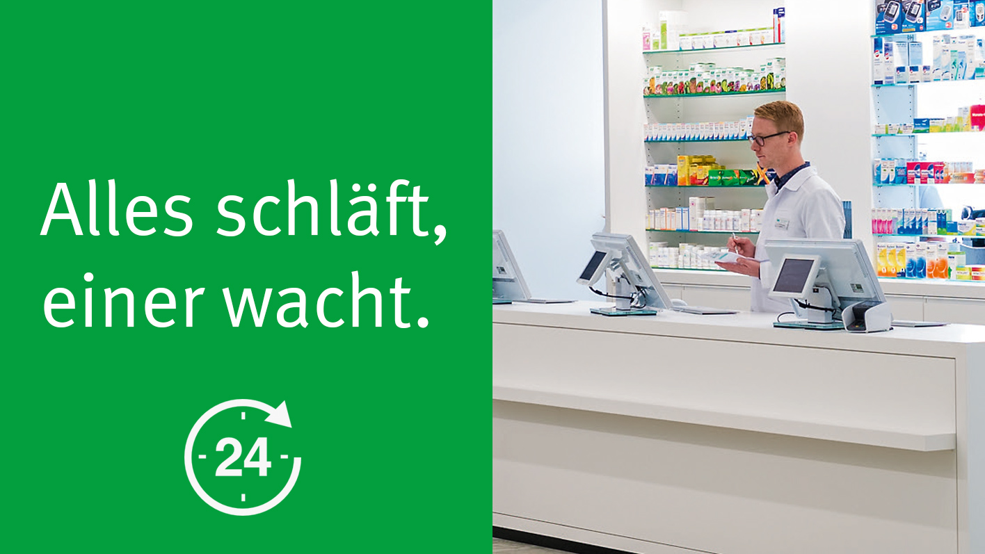 24 Stunden Apotheken-Notfalldienst – TopPharm Apotheke & Drogerie Brentano Wildegg