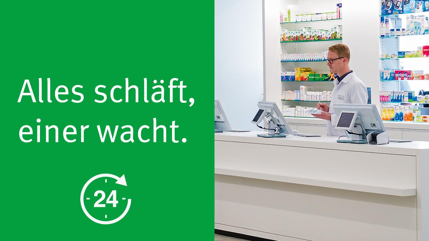 24 Stunden Apotheken-Notfalldienst – TopPharm Apotheke Küttigen