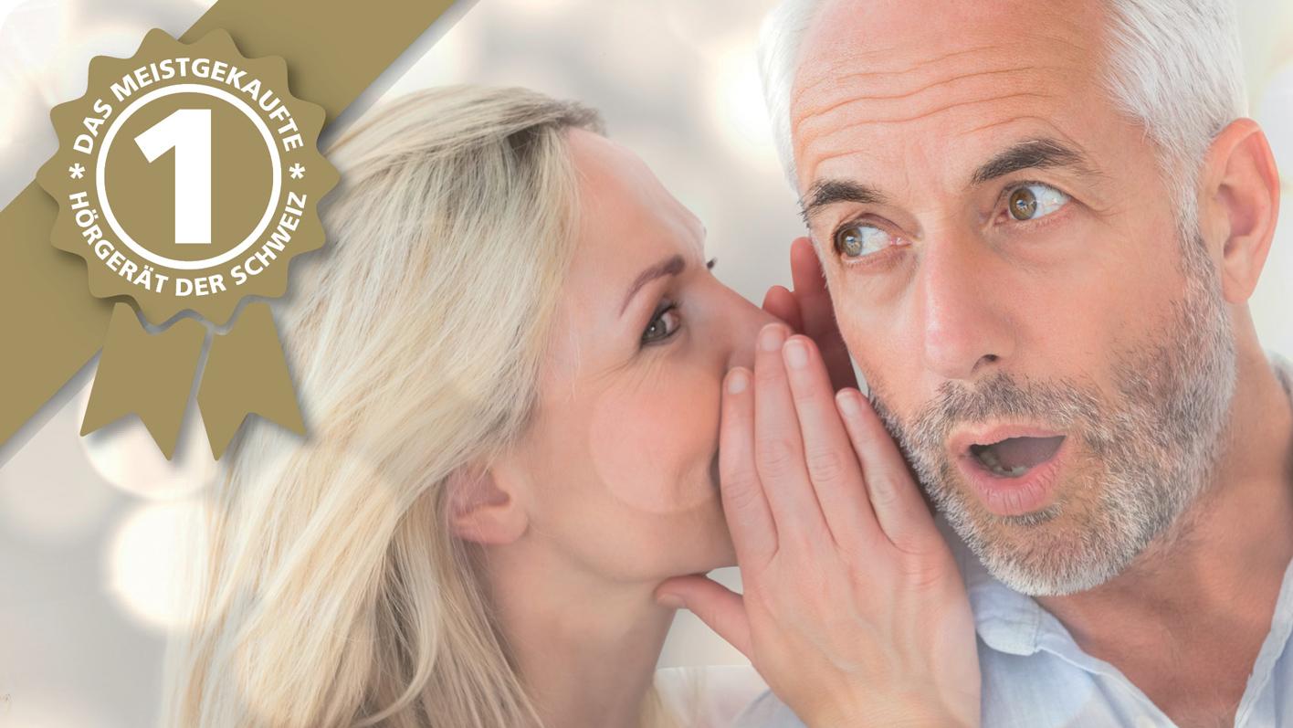 Sonetik - das meistgekaufte Hörgerät der Schweiz