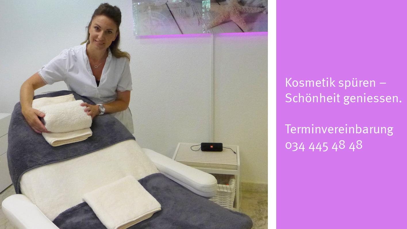 Kosmetik Institut in der TopPharm Apotheke Schröter Kirchberg (BE)
