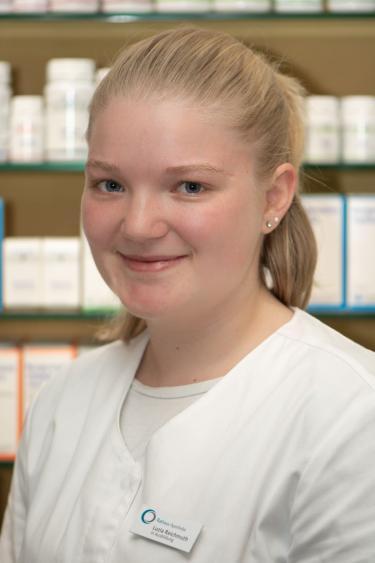 Luzia Reichmuth, in Ausbildung